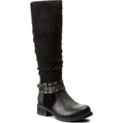 Kozaki JENNY FAIRY - WS17357-14 Czarny. Czarne buty zimowe damskie marki Jenny Fairy, z materiału. Za 149,99 zł.