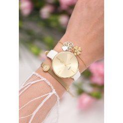 Biżuteria i zegarki damskie: Biało-Złoty Zegarek Lover In Me
