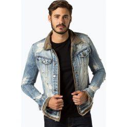Tigha - Męska kurtka jeansowa – Kyrin tent, niebieski. Niebieskie kurtki męskie jeansowe marki Reserved, l. Za 599,95 zł.