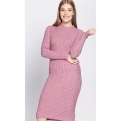 Sukienki: Różowa Sukienka Scarcity