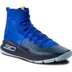 Buty UNDER ARMOUR - Ua Curry 4 1298306-401 Try/Ady/Ady. Niebieskie buty skate męskie Under Armour, z materiału. Za 649,95 zł.