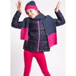 Odzież dziecięca: Kurtka puchowa dla dużych dziewcząt JKUD206z - granatowy