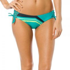 Bikini: FOX Dół Od Bikini Seca Lace Up Side Tie Xs Turkusowy