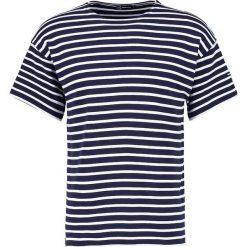 T-shirty męskie z nadrukiem: Armor lux Tshirt z nadrukiem navire/blanc