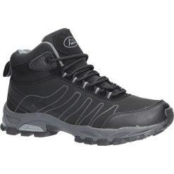 Czarne buty trekkingowe sznurowane softshell Casu B1530-1. Czarne buty trekkingowe damskie marki Casu. Za 99,99 zł.