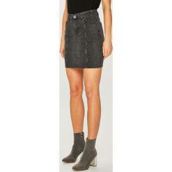 Answear - Spódnica. Różowe minispódniczki ANSWEAR, l, z bawełny, proste. Za 99,90 zł.