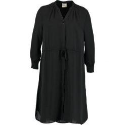 Sukienki hiszpanki: Selected Femme SFDAMINA 7/8 DRESS Sukienka koszulowa black