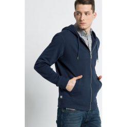 Diesel - Bluza. Szare bluzy męskie rozpinane Diesel, l, z bawełny, z kapturem. Za 329,90 zł.