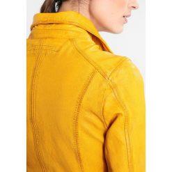 Bomberki damskie: Oakwood Kurtka skórzana yellow