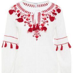 Club Monaco OHNAY TOP Tunika pure white. Białe tuniki damskie Club Monaco, z bawełny. Za 799,00 zł.