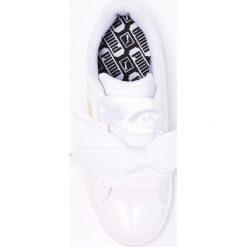 Puma - Buty Basket Heart Patent. Szare buty sportowe damskie Puma, z materiału. W wyprzedaży za 299,90 zł.