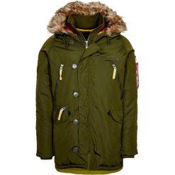 Płaszcze przejściowe męskie: Alpha Industries Płaszcz zimowy dark green