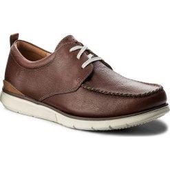 Półbuty CLARKS - Edgewood Mix 261337907 Mahogany Leather. Brązowe półbuty skórzane męskie Clarks. W wyprzedaży za 259,00 zł.