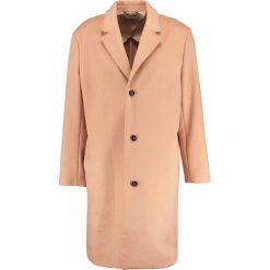 Płaszcze przejściowe męskie: Topman OVERSIZE SINGLE BREAST   Płaszcz wełniany /Płaszcz klasyczny pink