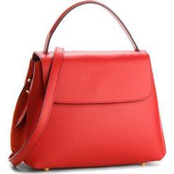 Torebka CREOLE - K10520  Czerwony L214. Czerwone torebki klasyczne damskie Creole, ze skóry. W wyprzedaży za 209,00 zł.
