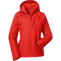 Kurtka funkcyjna w kolorze czerwonym. Czerwone kurtki damskie Schöffel, m, z materiału. W wyprzedaży za 390,95 zł.