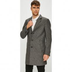 Tom Tailor Denim - Płaszcz. Szare płaszcze na zamek męskie TOM TAILOR DENIM, l, z bawełny, klasyczne. W wyprzedaży za 339,90 zł.