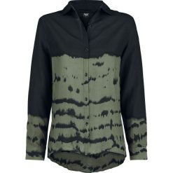Black Premium by EMP World's Gone Crazy Bluzka damska czarny/khaki. Brązowe bluzki longsleeves Black Premium by EMP, s, z materiału, z koszulowym kołnierzykiem. Za 184,90 zł.