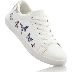Buty dziewczęce: Sneakersy bonprix biały
