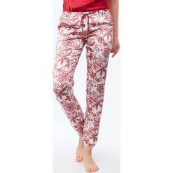 Etam - Spodnie piżamowe Clara. Szare piżamy damskie Etam, l, z materiału. W wyprzedaży za 99,90 zł.