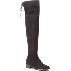 Muszkieterki S.OLIVER - 5-25527-21 Black 001. Czarne buty zimowe damskie marki S.Oliver, z materiału, na obcasie. Za 319,90 zł.