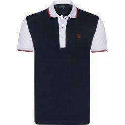 """Koszulki polo: Koszulka polo """"Crown"""" w kolorze granatowym"""