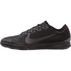 Nike Performance MERCURIAL VAPORX 12 PRO IC Halówki black. Czarne buty skate męskie Nike Performance, z gumy, do piłki nożnej. Za 419,00 zł.
