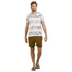 T-shirty męskie: Protest T-Shirt Męski Shed S Kremowy