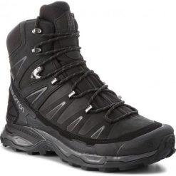 Buty trekkingowe męskie: Salomon Buty męskie X Ultra Trek GTX Black/Black/Magnet r. 43 1/3 (404630)