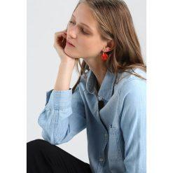 Kolczyki damskie: Whistles LOOP EARRING Kolczyki red