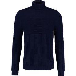 Swetry klasyczne męskie: Drumohr DOLCE VITA  Sweter navy