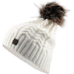Czapka damska CAD616 - biały - Outhorn. Białe czapki zimowe damskie Outhorn, na jesień. Za 34,99 zł.