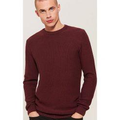 Sweter - Bordowy. Czerwone swetry klasyczne męskie House, l. Za 89,99 zł.
