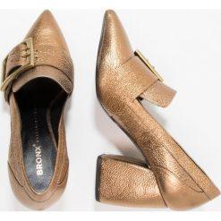 Buty ślubne damskie: Bronx Czółenka bronze