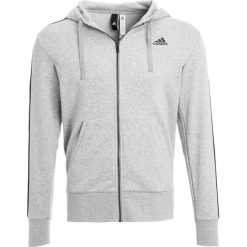 Bluzy męskie: adidas Performance Bluza rozpinana mottled grey heather/collegiate navy
