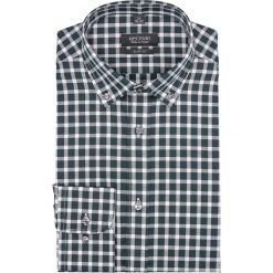 Koszula bexley 2682 długi rękaw slim fit zielony. Zielone koszule męskie slim Recman, m, z długim rękawem. Za 139,00 zł.
