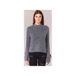 Swetry Vero Moda  ELINA. Niebieskie swetry klasyczne damskie marki Vero Moda, z bawełny. Za 143,20 zł.