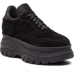 Sneakersy EVA MINGE - Cadalso 4C 18PM1372671EF 601. Czarne sneakersy damskie marki Eva Minge, z materiału. W wyprzedaży za 299,00 zł.
