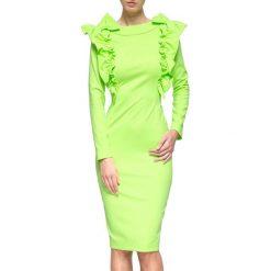 Sukienki balowe: Sukienka w kolorze neonowozielonym