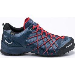 Salewa - Obuwie Wildfire Gtx. Szare buty trekkingowe męskie marki Salewa, z gumy, na sznurówki, outdoorowe. W wyprzedaży za 599,90 zł.