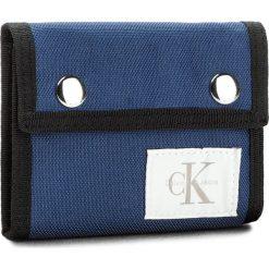 Duży Portfel Męski CALVIN KLEIN JEANS - Sport Essential Canv K40K400167 440. Niebieskie portfele męskie marki Calvin Klein Jeans, z jeansu. Za 179,00 zł.