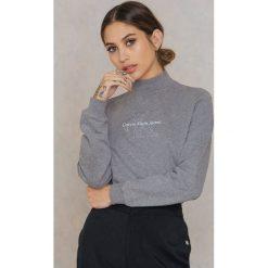 Odzież damska: Calvin Klein Bluza z długim rękawem Hazel True Icon - Grey