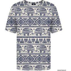 T-shirt ze wzorem Elephants Pattern. Szare t-shirty męskie Pakamera. Za 129,00 zł.
