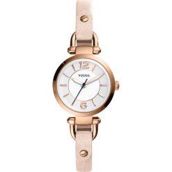 Zegarek FOSSIL - Georgia ES4340  Nude/Rose Gold. Różowe zegarki damskie marki Fossil, szklane. Za 509,00 zł.
