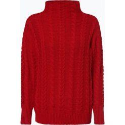 Marie Lund - Sweter damski, czerwony. Czerwone swetry klasyczne damskie Marie Lund, m, z dzianiny, z golfem. Za 229,95 zł.