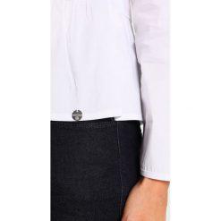 Bluzki asymetryczne: Rich & Royal PEPLUM Bluzka white