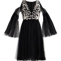 Sukienki hiszpanki: Lace & Beads Petite BERTI  Sukienka koktajlowa black