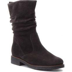 Kozaki GABOR - 92.703.39 Dk Grey. Szare buty zimowe damskie marki Gabor, ze skóry ekologicznej, na obcasie. W wyprzedaży za 349,00 zł.