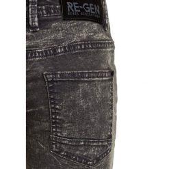 ReGen TEEN BOYS BERMUDA Szorty jeansowe dark grey. Szare spodenki chłopięce Re-Gen, z bawełny. Za 129,00 zł.