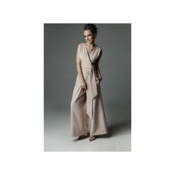 Kombinezon Blade Babe - nude. Brązowe kombinezony eleganckie marki Mango, l, z koronki, na ramiączkach. Za 359,00 zł.